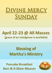Divine Mercy 2017 and Martha's Ministry